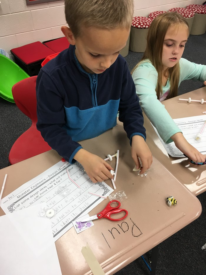 Kramer's Class- Building Cars for Engineering Unit
